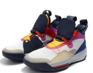 Kutu ile 33 Görünür Yardımcı Basketbol Ayakkabıları Tech Paketi Uçuş Uçuş spor sneakers 33 s XXXIII Yeşim Trainer ücretsiz shippment
