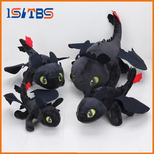 23-55cm animado Cómo entrenar a tu dragón de peluche juguetes de peluche sin dientes furia de la noche de peluche de felpa animal de juguete muñeca navidad niños regalo