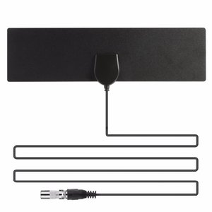 hot selling 50 Mile Range Ultra-thin Digital Indoor Antena TV HDTV Antenna&High Signal Capture Cable Signal Amplifie