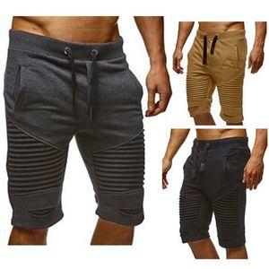 Plus größe m-3xl herren jogger männliche pluderhosen casual knielangen sportbekleidung kleidung kurze hosen jogginghose