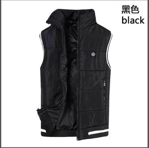 Vente en gros - Veste d'hiver de grande taille pour hommes photographe masculin Vest veste en coton épais chaud sans manches pour hommes avec poche 4XL
