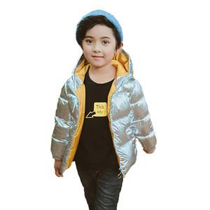 2018 novo especial oferta para baixo casaco pydownlake meninos inverno do revestimento da menina do menino Casacos com capuz criança russa casacos engrossar roupa do bebé quentes