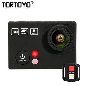K3R 4K WIFI HD Dijital Eylem Kamera Doğa Sporları DV Su geçirmez Dalış Geniş Sualtı Kamera Kamera Balık Gözü Açı Lens