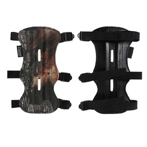 Archery Target Arm Guard Protector Armbands 3 Strap 2 Sides Adjustable Strap Hunting Shooting Arm Protection Safe Guard Arrow Accessories