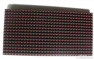 높은 밝기 p10 야외 빨간색 led 디스플레이 모듈