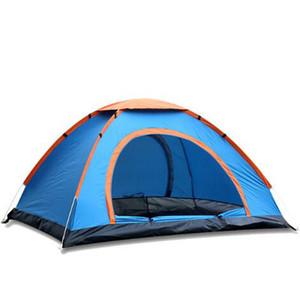 Ultra Light 2 Person Pop Up Tent Prezzo economico per il campeggio all'aperto Tenda automatica Tenda automatica per campeggio No-See-Um Mesh