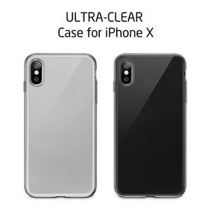 Nueva cubierta de teléfono de cristal de cristal Ultra Trail TPU suave TPU TPU transparente para iPhone 12 Mini 11 Pro MAX X XS XR 8 7 PLUS SE