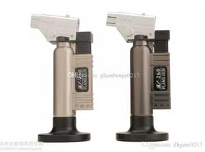 Metal DAB Jet flameTorch Lighter 1300 C Gas butano Soldadura Soldadura Jet Torch Lighter Gun A prueba de viento Encendedor BBQ Cocina