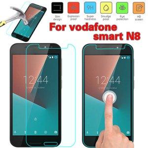 Protector de pantalla de vidrio templado para Vodafone Smart E8 9H 2.5D película de alta definición iPhone XS XR XS Max Samsung J7 Prime