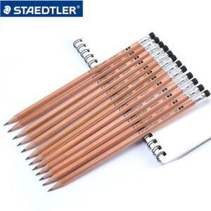 지우개 학교 사무 용품 24PCS / 많은 132 40N C12 나무 연필 2B 연필 사무실 pencill 도매 문구