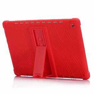 Funda de silicona suave con soporte para Huawei MediaPad M5 10.8 10 Pro CMR-AL09 CMR-W09 Tablet + Stylus Pen