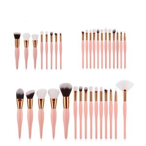 2018 New 8 12 Pcs Professional Makeup Brushes Set Foundation Powder Brush Eye Shadow eyebrow make up brush Cosmetic Brush Blending Kits