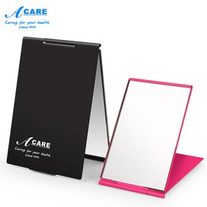 Mirror Portable Ultra-thin Black Rose Red Make Up Pocket Mirror Cosmetic Rec Foldable Foldable Mirrors Small Gifts