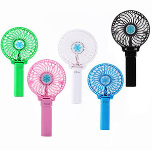 NEW Portable Rechargeable Folding Fan USB Charging Cooler Removable Rotating Handheld Mini Outdoor Fans Pocket Folding Fan Free shipping NA