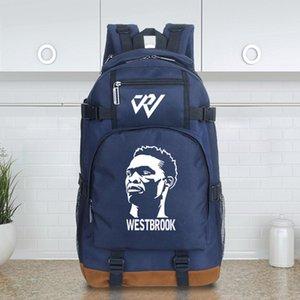 حقيبة ظهر قوية Russell Westbrook day pack MVP star school bag كرة السلة packsack جودة حقيبة الظهر الرياضة المدرسية daypack في الهواء الطلق