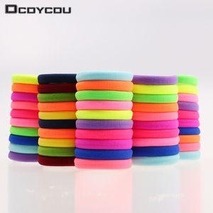 20шт/лот конфеты флуоресценции цветные держатели высокое качество резинки для волос Резинки аксессуары девушка женщин