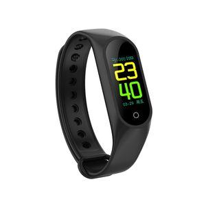Schermo a colori M3 Smart braccialetto cinturino monitor della frequenza cardiaca Fitness Tracker Smart Wristband PK mi band 3