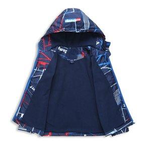 LILIGIRL мальчики осень куртка детская зима дети пальто толстовки ветровки водонепроницаемый ветрозащитный мальчики мода куртки 3-12y