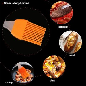 Baking Brush Cake Diy Silicone Tools Eco-friendly Bread Cream Cooking Basting Brush Silicon Kitchen Home Barbecue #T5P
