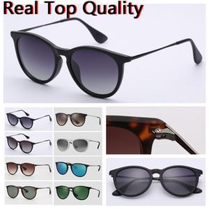 Designer Sunglasses Donne Occhiali da sole Top Quality Erika Protezione UV Protezione Polarizzata Lenti non autorizzate con custodia in pelle nera o marrone, panno et