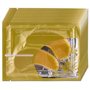 20Pcs=10Pairs Collagen Crystal Eye Masks Anti-puffiness moisturizing Eye masks Anti-aging masks collagen gold powder eye mask Peels