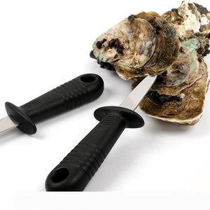 Scallop knife Shells Opener Oyster Knife Fresh Oyster Seafood Open Tool Stainless Steel Professional Shucking Shellfish Opener LXL1164