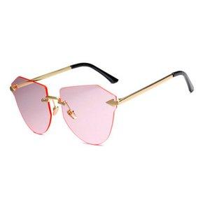 السهم بدون إطار الذهب النظارات الشمسية أزياء الأطفال المستقطبة نظارات معدنية السهم بدون إطار السهم بدون إطار عرضي ليتل R8dQo Casecustom