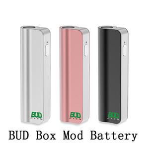 Оригинал BUD MOD II VV батареи 390mAh 4 Уровень напряжения Регулируемый Испаритель Vapes Mod С Oil Side Window Fit Все Atomizer 510 Thread