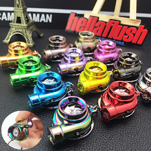الإبداعية سيارة المفاتيح الصمام ضوء سيارة تعديل توربو سلسلة المفاتيح سبيكة معدنية سلسلة المفاتيح قلادة كيرينغ لسيارة مفتاح السيارة