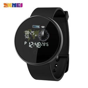 SKMEI Sport Damen Herren Uhren Bluetooth wasserdichte Schlafmonitor-Armbanduhr für Huawei Xiaomi GPS Tracker Fitness Reloj B36M