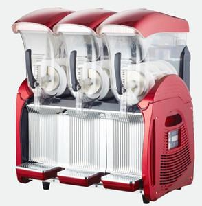 Kolice Comercial 3 x 12L Tanques Margarita Congelado bebida verão gelo Slush Machine / congelado bebidas máquina de fazer gelo / Slushie Máquina