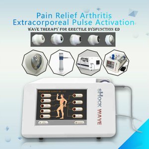 2020 Hot sale!Smartwave radial acoustic shockwave therapy equipment for treat pain Low electromagnetically shockeave for ED treatment
