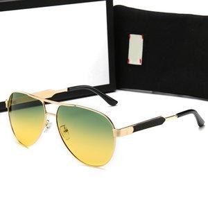 Les derniers verres polarisés de mode mènent les lunettes de soleil de mode pour les hommes et les femmes marques de sport rétro concepteur lunettes de soleil boîte de ceinture