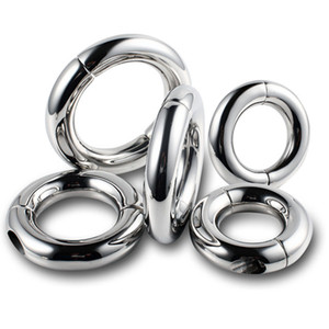 Male Penis Rings Hoop Bind Scrotal Pendant Sex Rings Bondage Scrotum Loading Rings Cockrings Sex Toys for Men B2-2-73