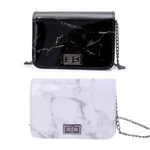 Женщины Кожа Marble Pattern Сумка Tote сумки посыльного сумки Хобо Кошелек Женские Мода Дизайн сумки 2018 THINKTHENDO