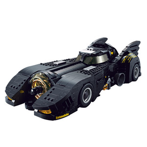 1778 PCS DIY Building Blocks Batmobile 1989 Car Racing com caixa original