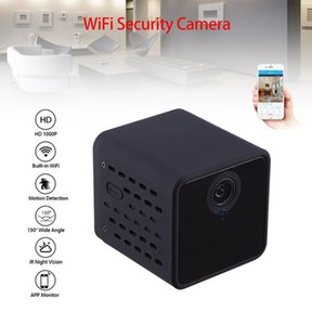 Wireless wifi network mini camera HDQ21 Full HD 1080P IR night vision pocket body camera digital video recorder Car DVR Camcorder