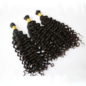 Верхнее Качество Необработанные Перуанские Глубинные Волнистые Волосы Насыпные Расширения Навалом Без Утков Более Дешевые Глубокие Вьющиеся Волосы Навалом Для Кос Человеческие Волосы