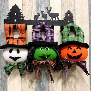 Decorazioni di Halloween casa Hanging zucca Strega Bianca fantasma Ornament hotel KTV Shopping Mall Decoration Puntelli Pendant