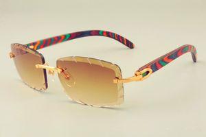 2019 الشحن المجاني جديد بيع الساخنة شخصية عدسة النقش نظارات 8300915 اللون الطبيعي نمط الذراع نظارات جدا، للجنسين، عدسة 3.0 سميكة