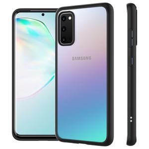 Para Samsung Galaxy S11 S11 Além disso TPU quadro + Limpar dura do PC híbrido armadura à prova de choque Capa para Samsung S11e S11 caixa transparente