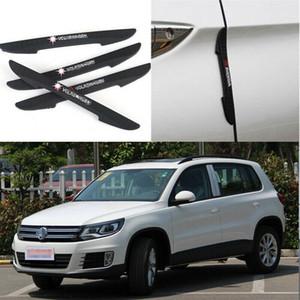 Для Volkswagen Tiguan Автомобиль Боковая Дверь Край Гвардии Бампер Отделка Протектор Наклейки