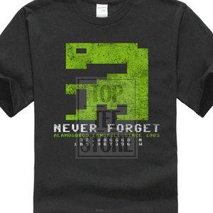 Никогда не забывайте Et T Shirt 1983 Игра Аламогордо Pc Flop Atari Видеоигры Погребение