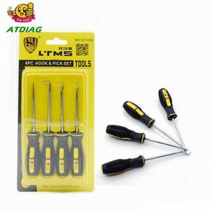 4шт Удлиненная крюк и выбрать автомобилей Автомобильный комплект Seal Remover Craft Hobby Tool Straight / Offset / 90 Degree / O-Ring Крючок Пика