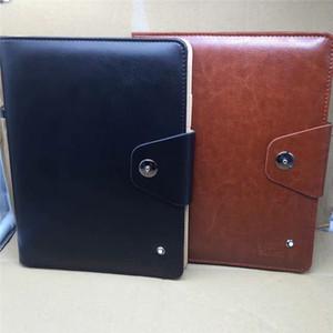 New Luxurys Leder-Abdeckung Notizblöcke Agenda Notizblöcke Personal Diary Memos Accounts Aufnahme Travel Journal MB Marken Geschäftsbedarf Geschenk