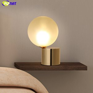 FUMAT Creative Table Lamps Magic Mini Glass Ball Stand Table Lamps For Living Room Bedside Glass Ball G9 Led Table Lights