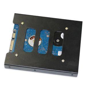 """2.52.5 """"до 3.5"""" SSD HDD металлический адаптер монтажный кронштейн держатель жесткого диска для ПК"""