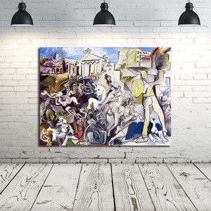 Pablo Picasso Il Ratto delle Sabine Stampe su tela Poster parete della pittura Immagine Stampa Home Decorazione Camera Salon Immagine