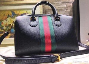 2020 Nachrichten Ophidia Sammlung mittel Boston Tragegepäcktasche Cross Body Business Messenger Bags Wildleder Iconic Taschen Schultertasche Totes