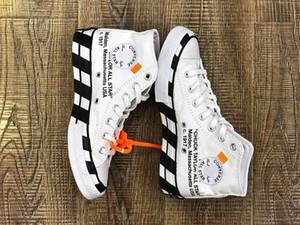 2019 nuevos zapatos del patín del diseñador de All Star de lona para los hombres casual para mujer del top del alto de la lona clásica los zapatos para correr al aire libre Size35 ~ 44 C29